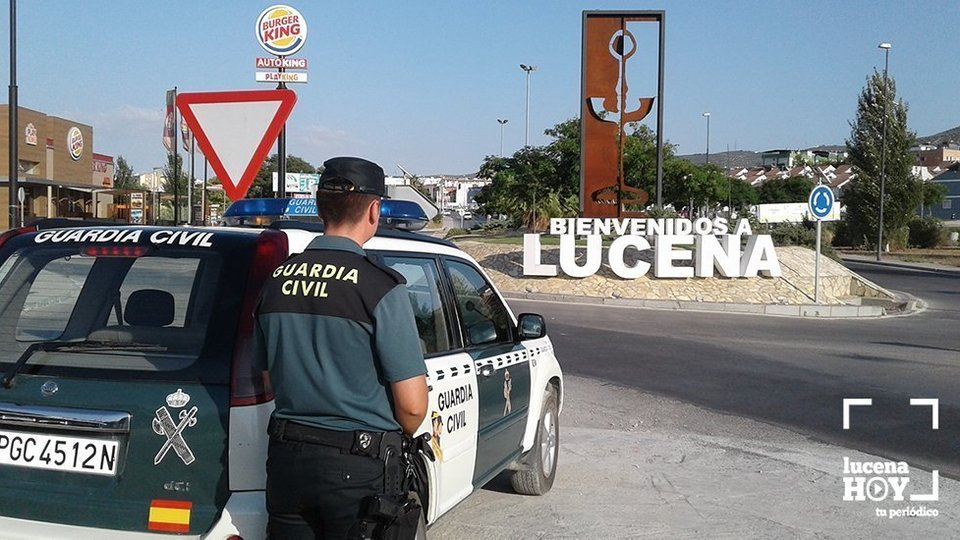 Guardia civil lucena