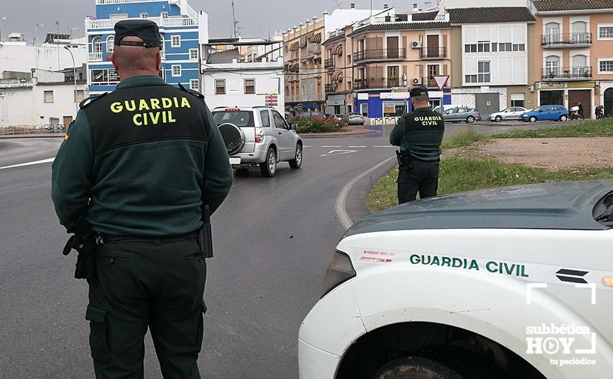 Operativo de vigilancia de la Guardia Civil. Archivo